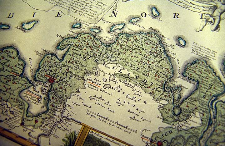 Maps Of Ostfriesland From Mrjumbo